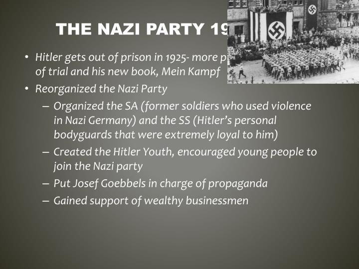 how did the nazis gain popularity essay Start studying history - hitler's rise to power learn vocabulary  what were some reasons for nazi popularity how many seats did the nazis gain in 1930 107.
