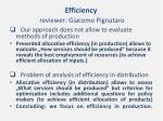 efficiency reviewer giacomo pignataro1