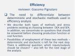 efficiency reviewer giacomo pignataro3
