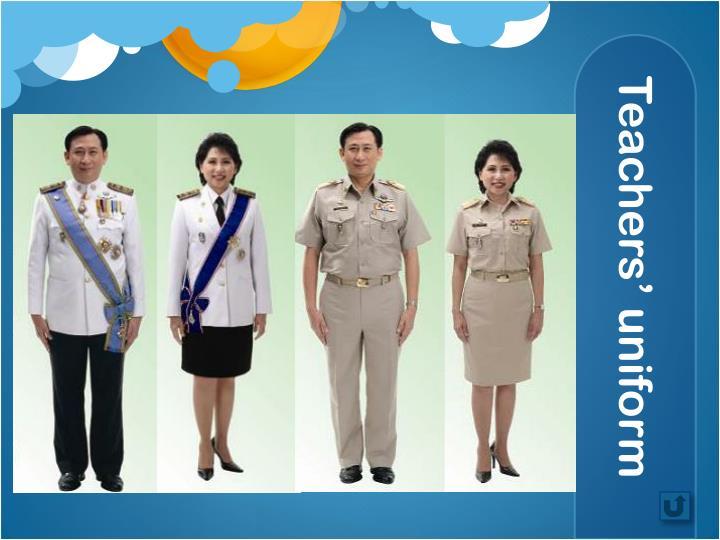 Teachers' uniform