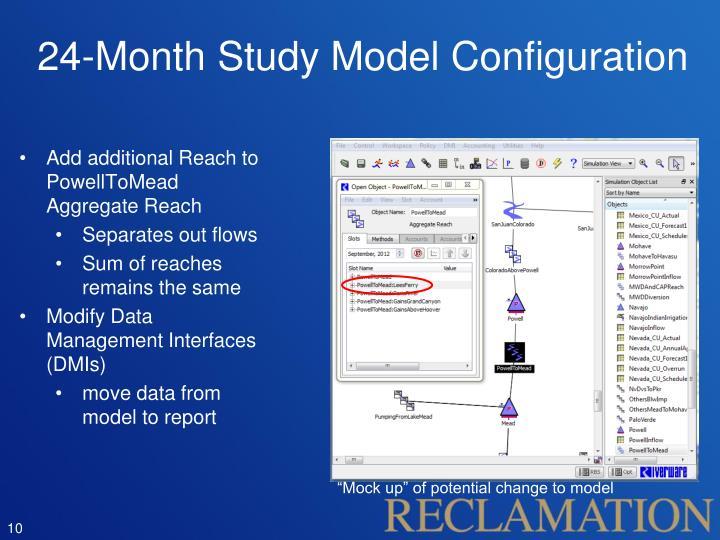 24-Month Study Model Configuration