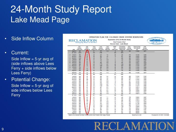 24-Month Study Report