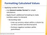 formatting calculated values2
