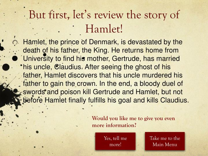 essay on the struggle between hamlet and claudius Hamlet and claudius' power struggle - one main theme that arises in the hamlet is the power struggle between hamlet and claudius the main problem is between hamlet and claudius they are in an ongoing battle throughout the play to see who will rise with the power of the throne.