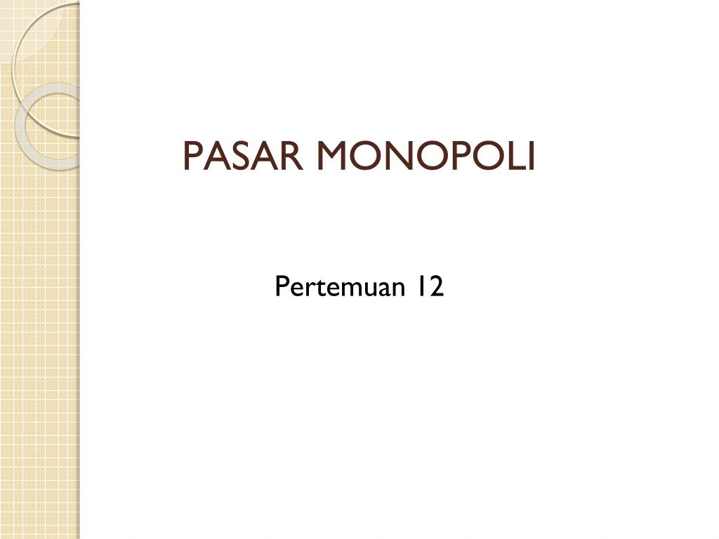 Ppt Pasar Monopoli Powerpoint Presentation Id 2678464