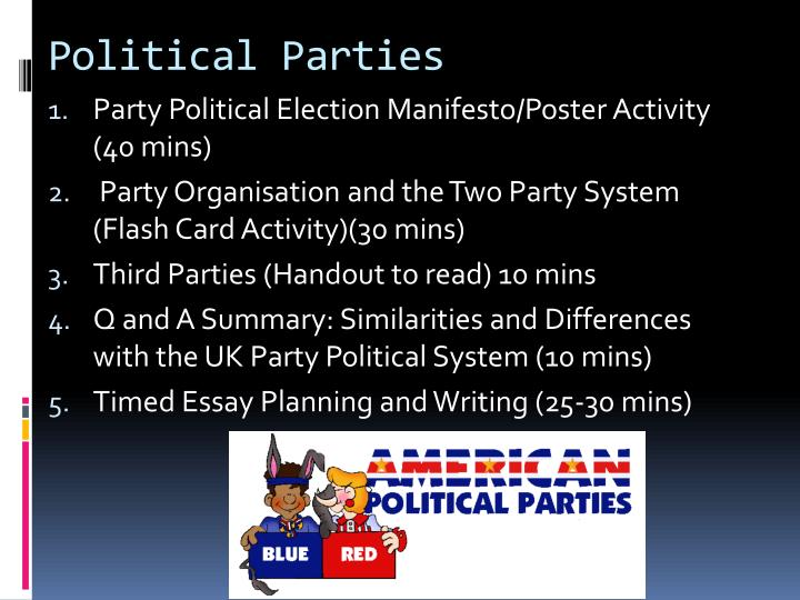 essays on political parties