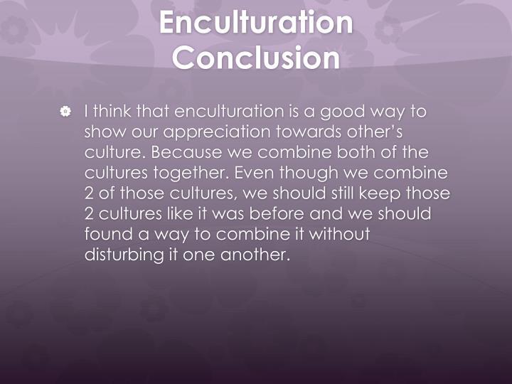 Enculturation