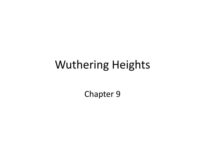 role of marriages in wuthering heights Patriarchy in wuthering heights and macbeth the rules of marriage were based on the rules of men were forced to play the female roles because it was.