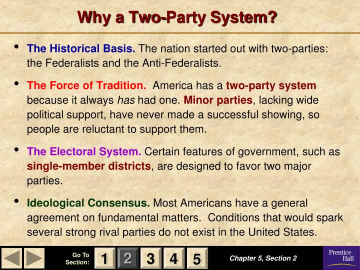 Why a Two-Party System?
