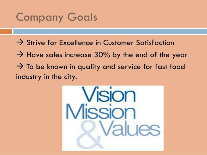 Company Goals