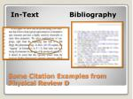 some citation examples from physical review d