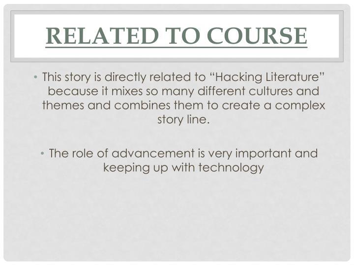 Related To Course