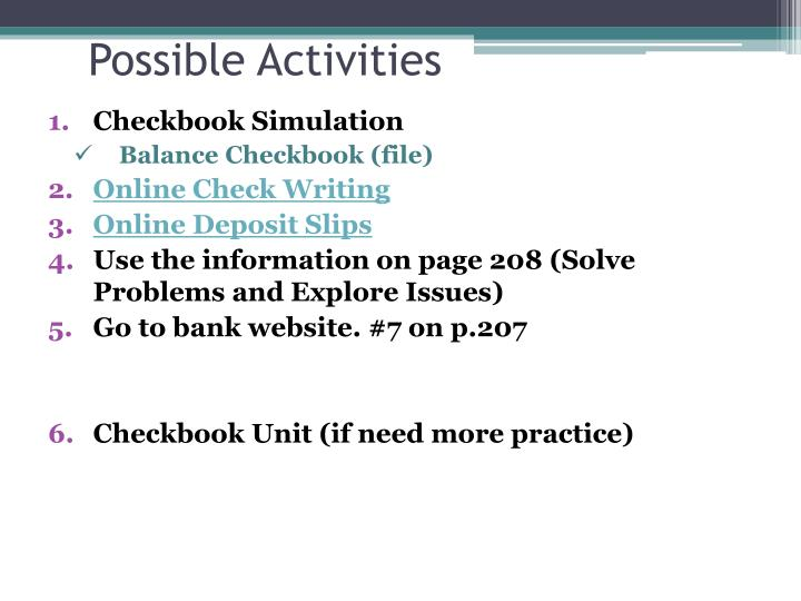ppt checking accounts powerpoint presentation id 2679777