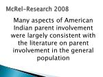 mcrel research 20085
