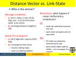 distance vector vs link state2