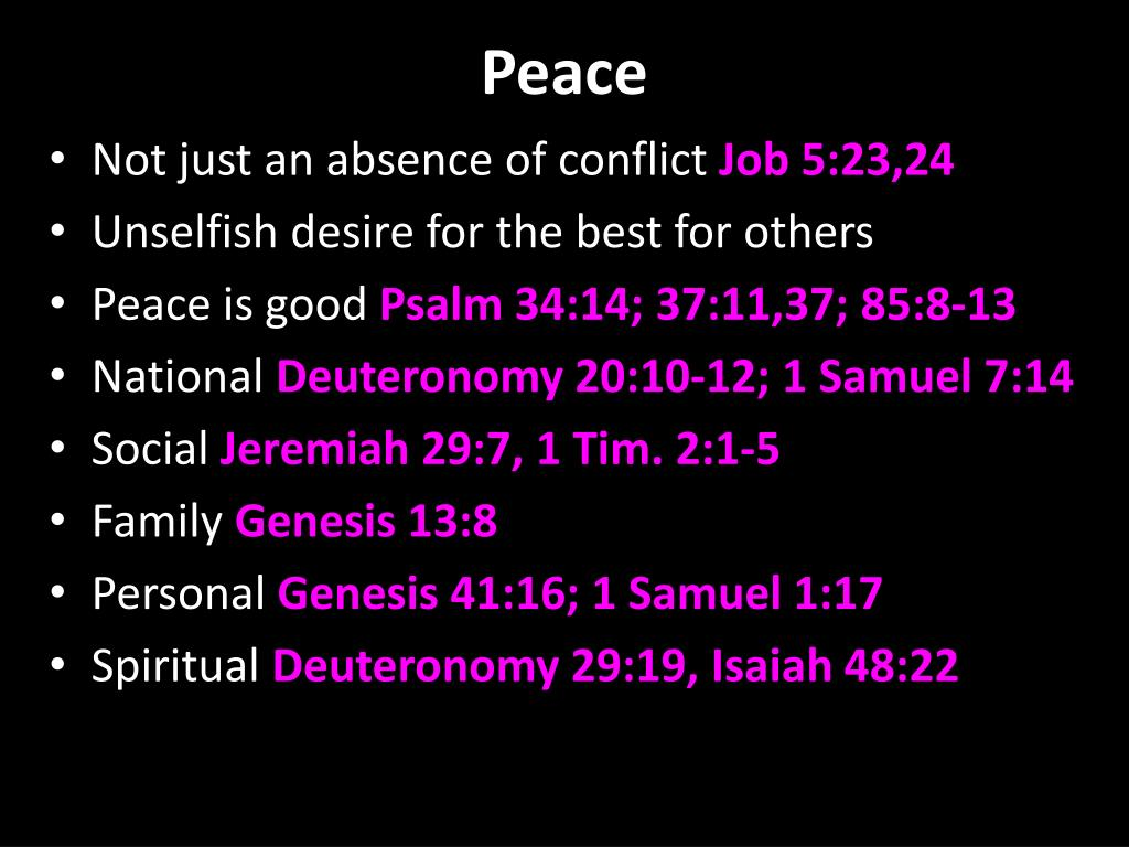 PPT - BLESSED ARE THE PEACEMAKERS PowerPoint Presentation