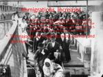 immigrations increases