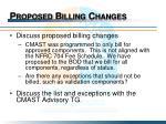 proposed billing changes1