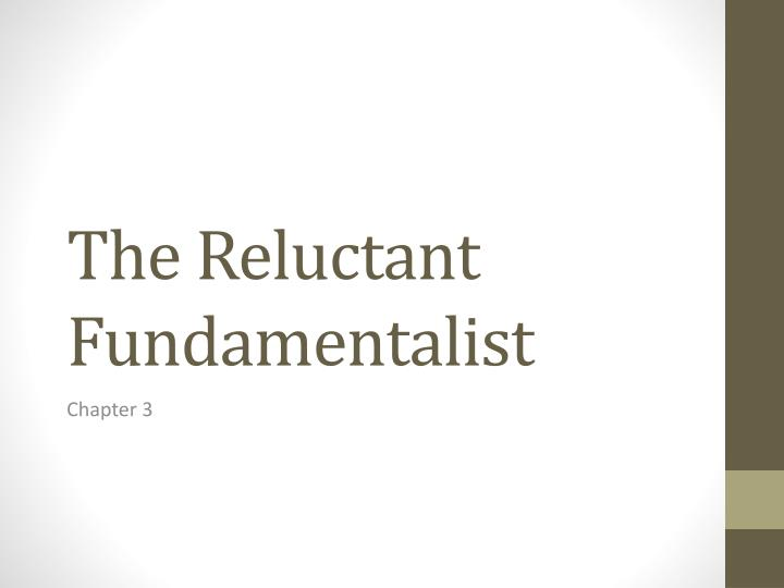 the reluctant fundamentalist n.