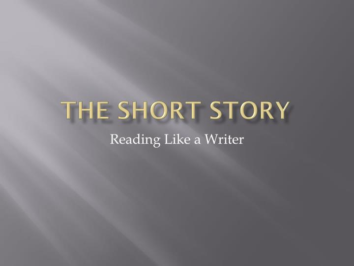 the short story n.