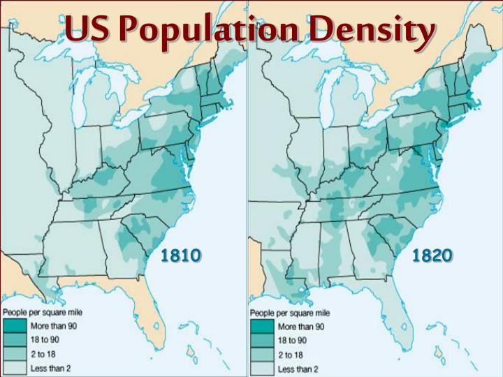 US Population Density