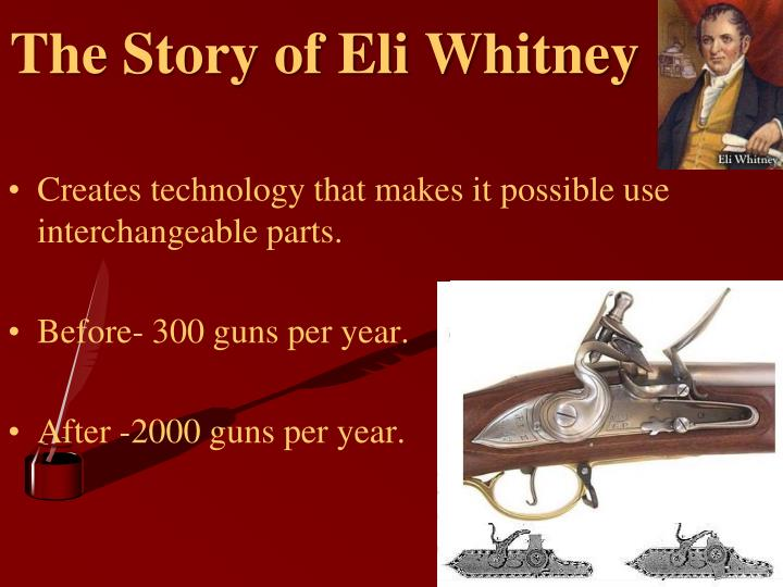The Story of Eli Whitney