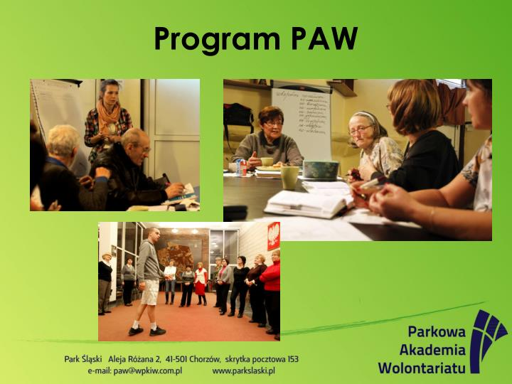 Program PAW