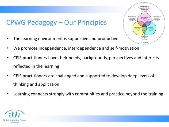 Cpwg pedagogy our principles