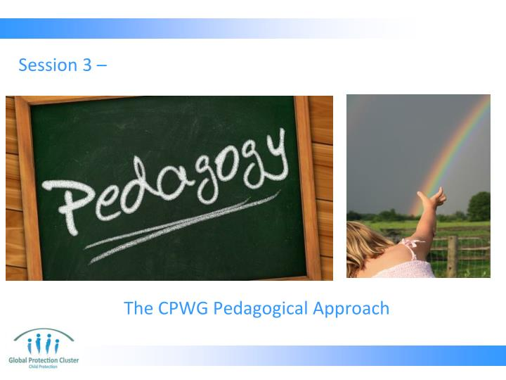 The cpwg pedagogical approach