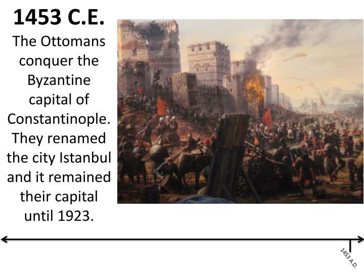 1453 C.E.