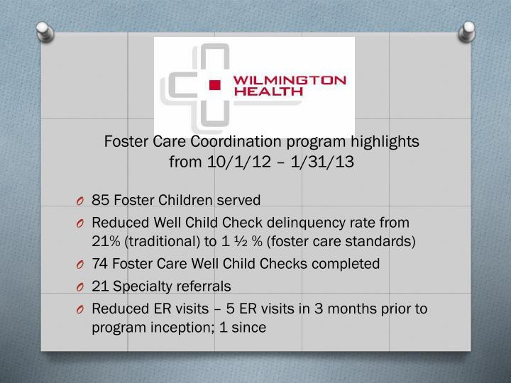 85 Foster Children served