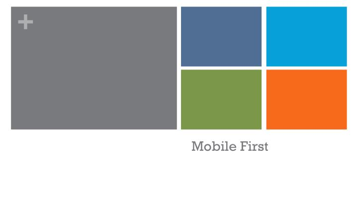 mobile first n.