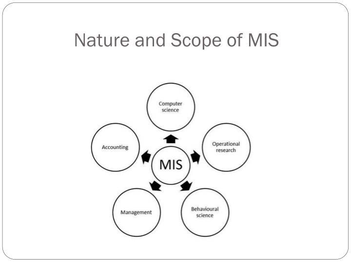 scope of mis