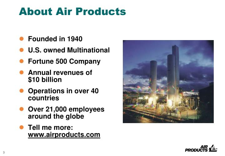 About air products