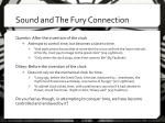 sound and the fury connection1