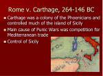 rome v carthage 264 146 bc