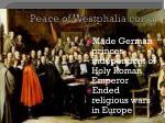 peace of westphalia con d