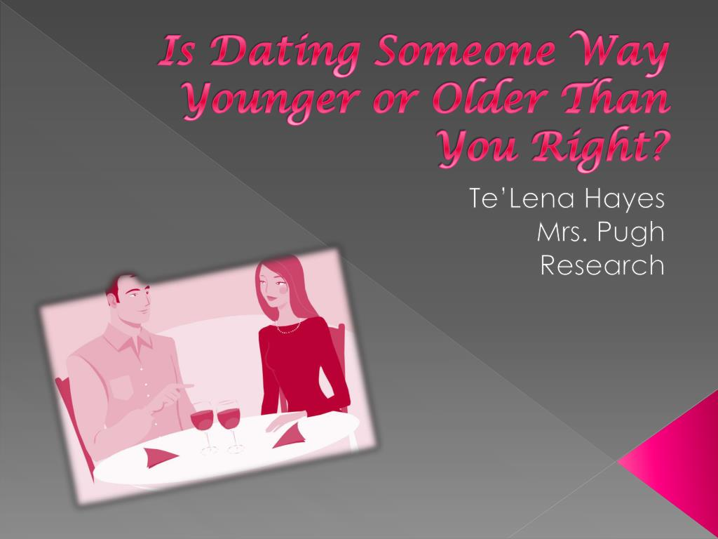 Dating someone older than you in college