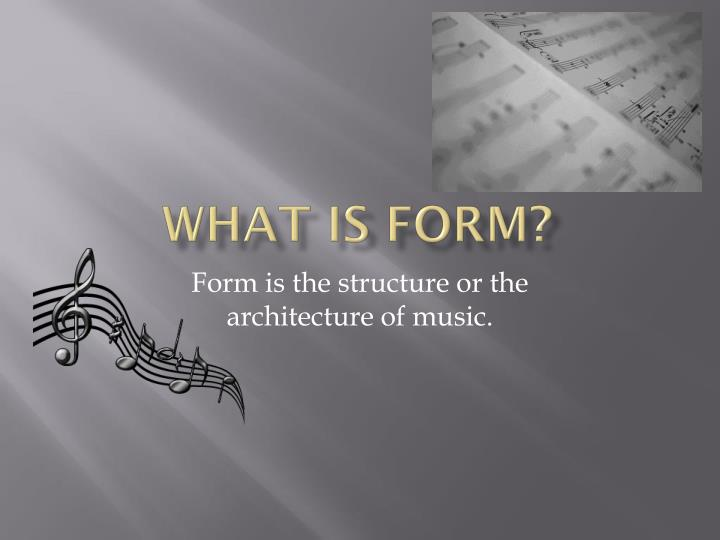 what is form n.