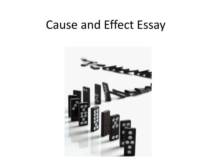 cause and effect essay n.