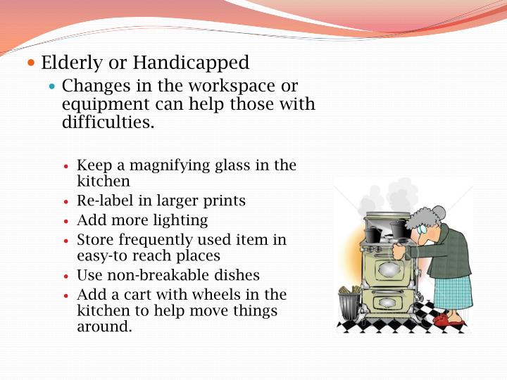 Elderly or Handicapped