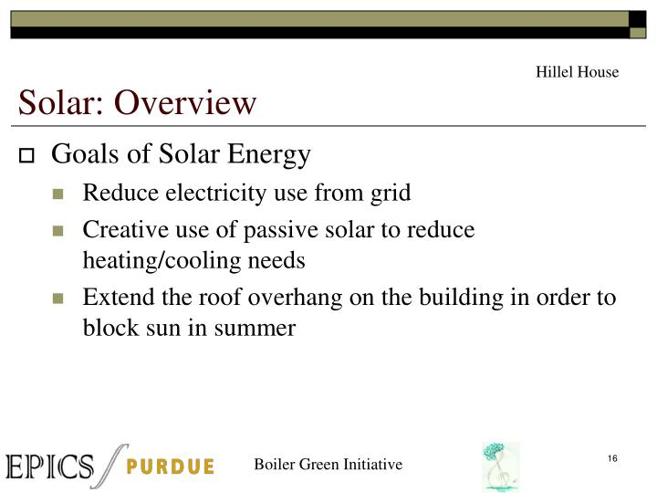 Solar: Overview