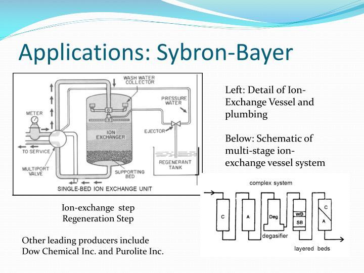 Applications: Sybron-Bayer