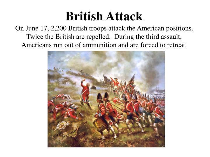 British Attack
