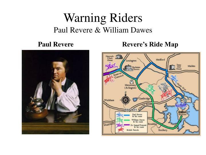 Warning Riders