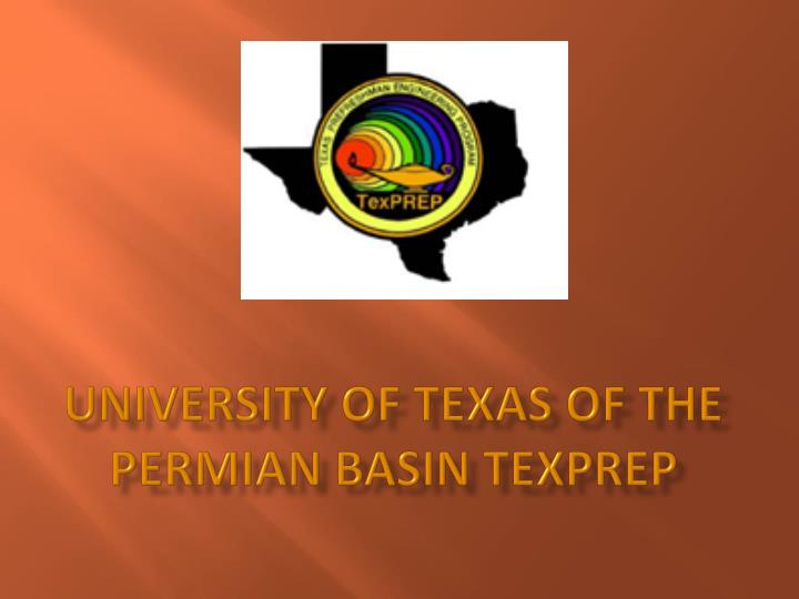 university of texas of the permian basin texprep n.