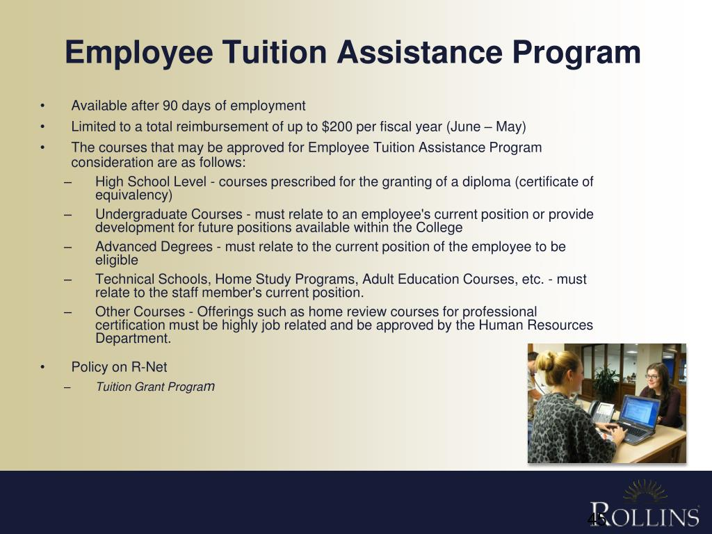 employee-tuition-istance-program-l Employer Tuition Istance Application Form on