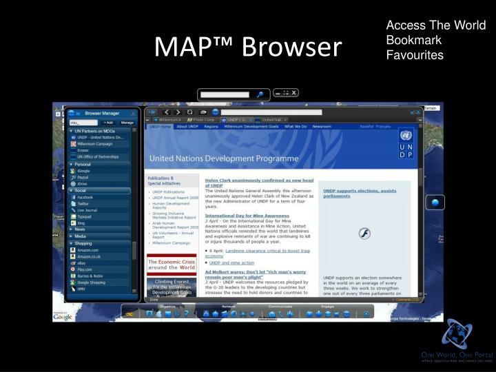 MAP™ Browser