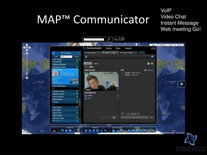 MAP™ Communicator