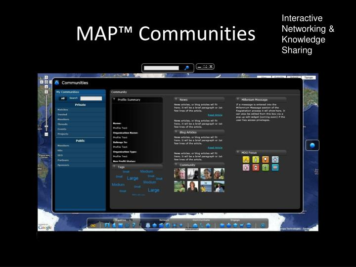MAP™ Communities